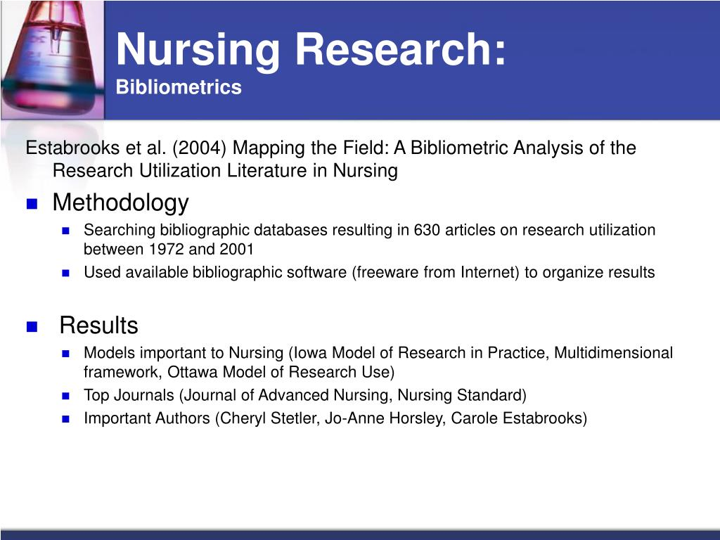 nursing research utilization This study describes barriers perceived by nurses to the implementation of research findings in a community hospital the barriers to research utilization scale was.