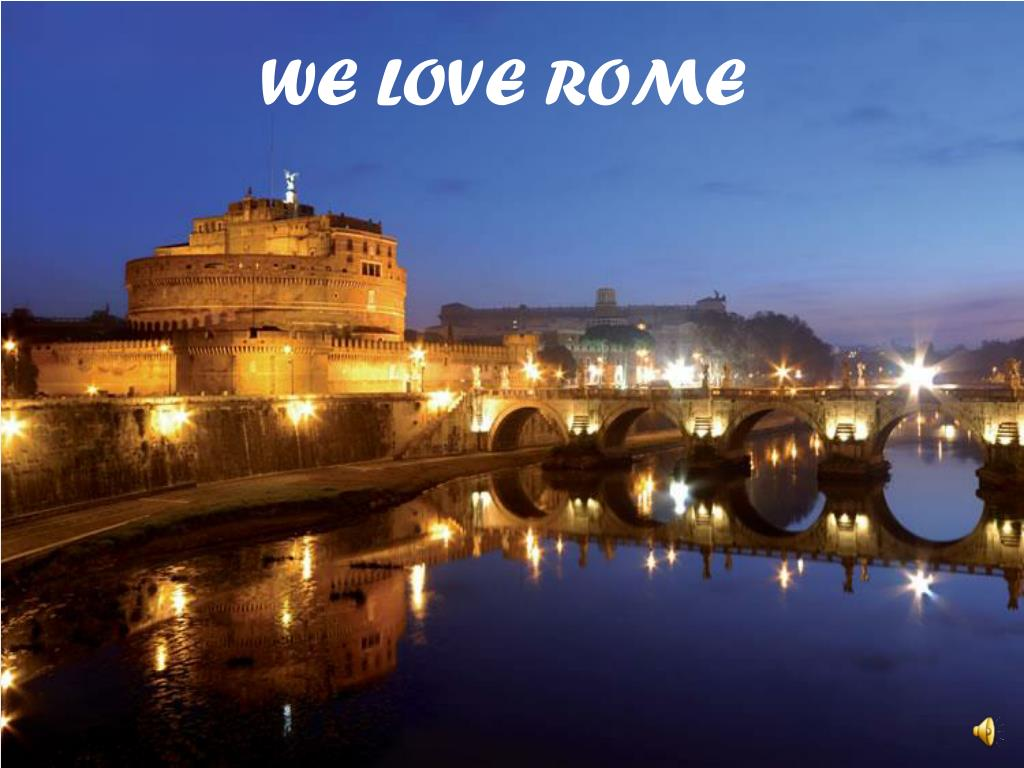 WE LOVE ROME