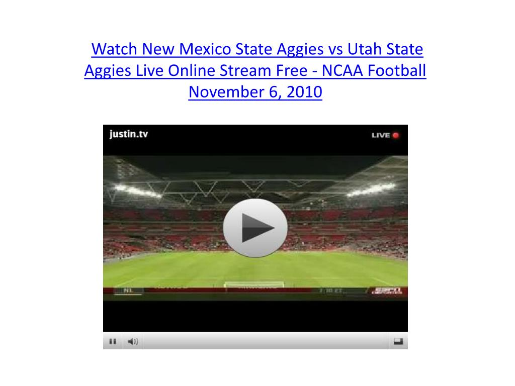 Watch New Mexico State Aggies