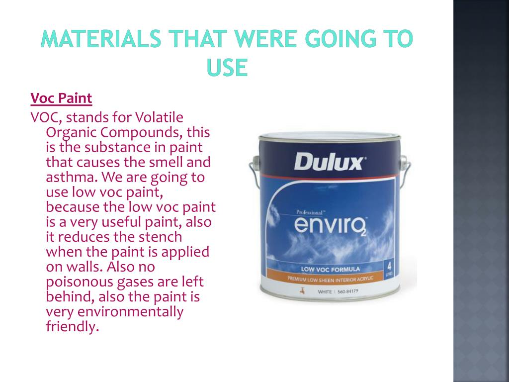 Materials that were Going to use