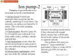 ion pump 2