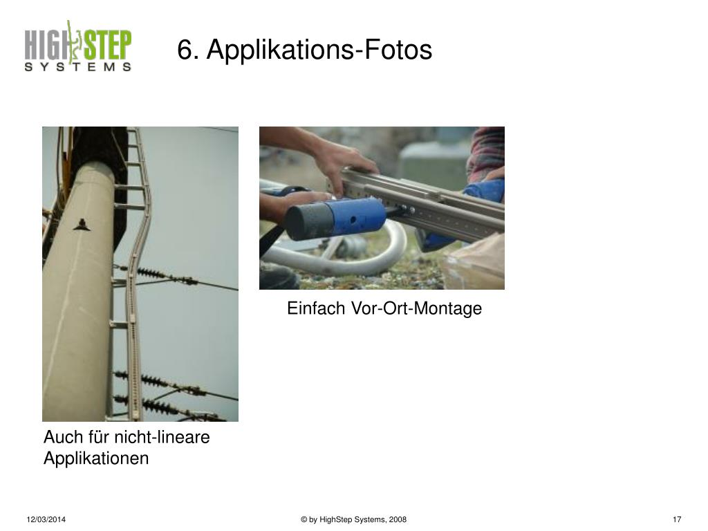 6. Applikations-Fotos