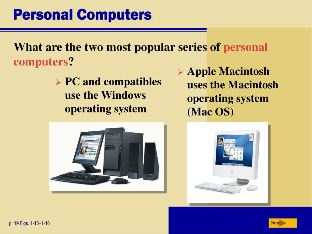 Personal Computers