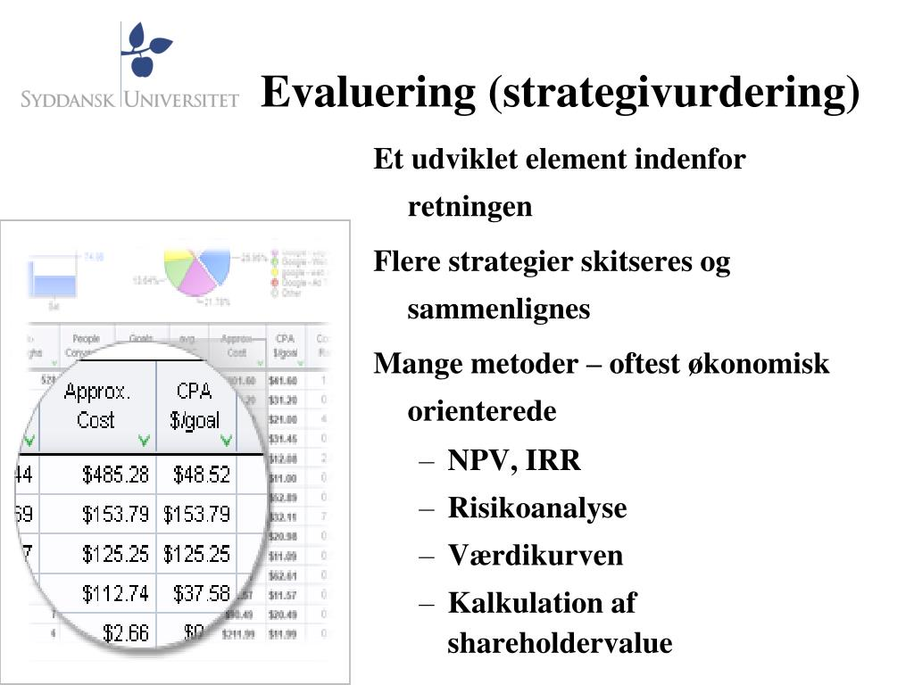 Evaluering (strategivurdering)