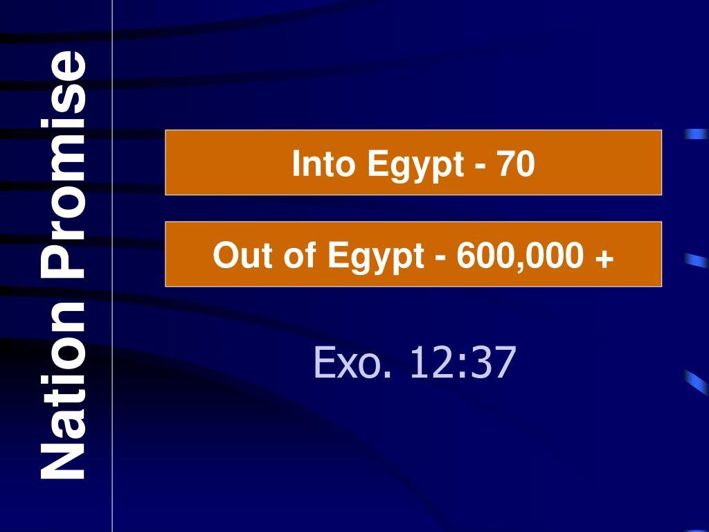 Into Egypt - 70