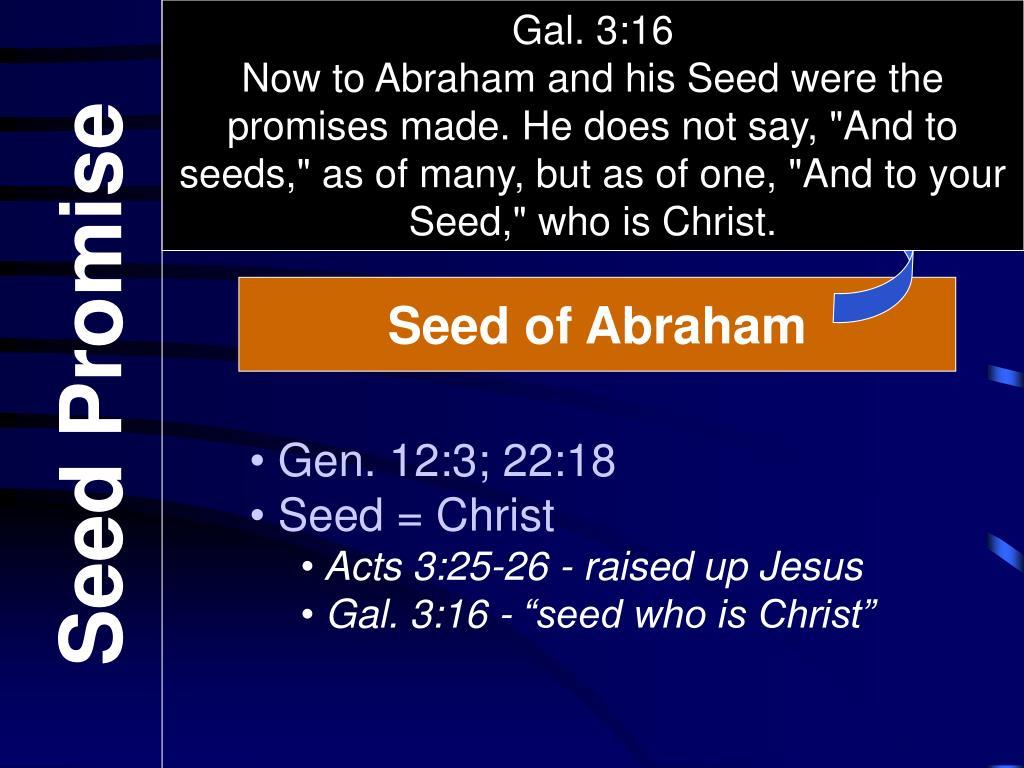 Gal. 3:16