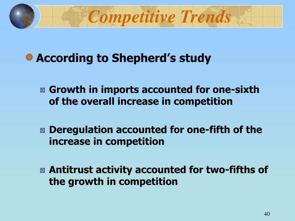 Competitive Trends