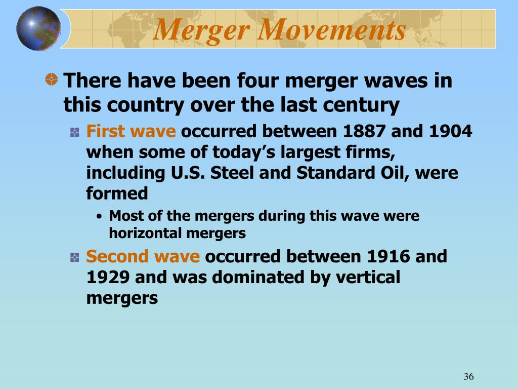 Merger Movements