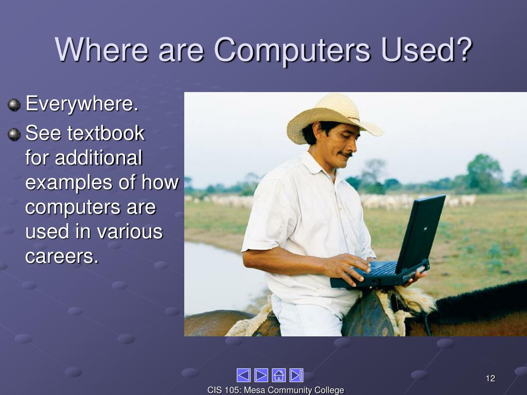 Where are Computers Used?