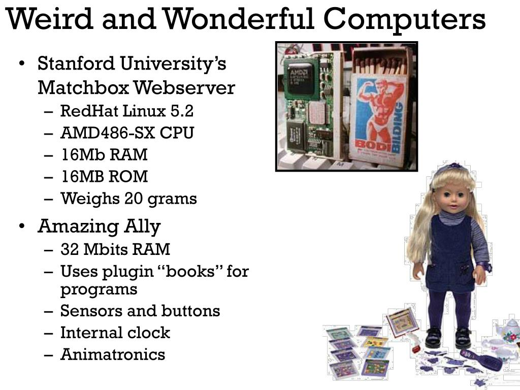 Weird and Wonderful Computers