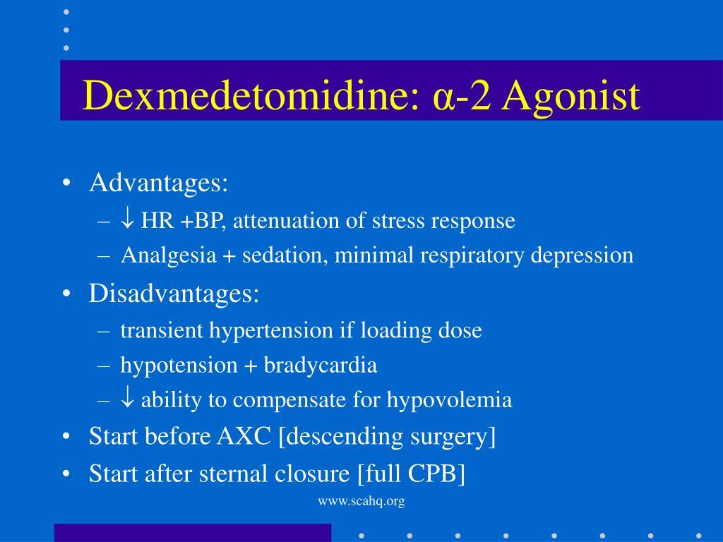 Dexmedetomidine: