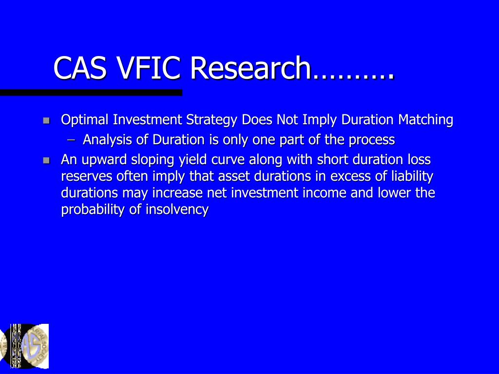 CAS VFIC Research……….