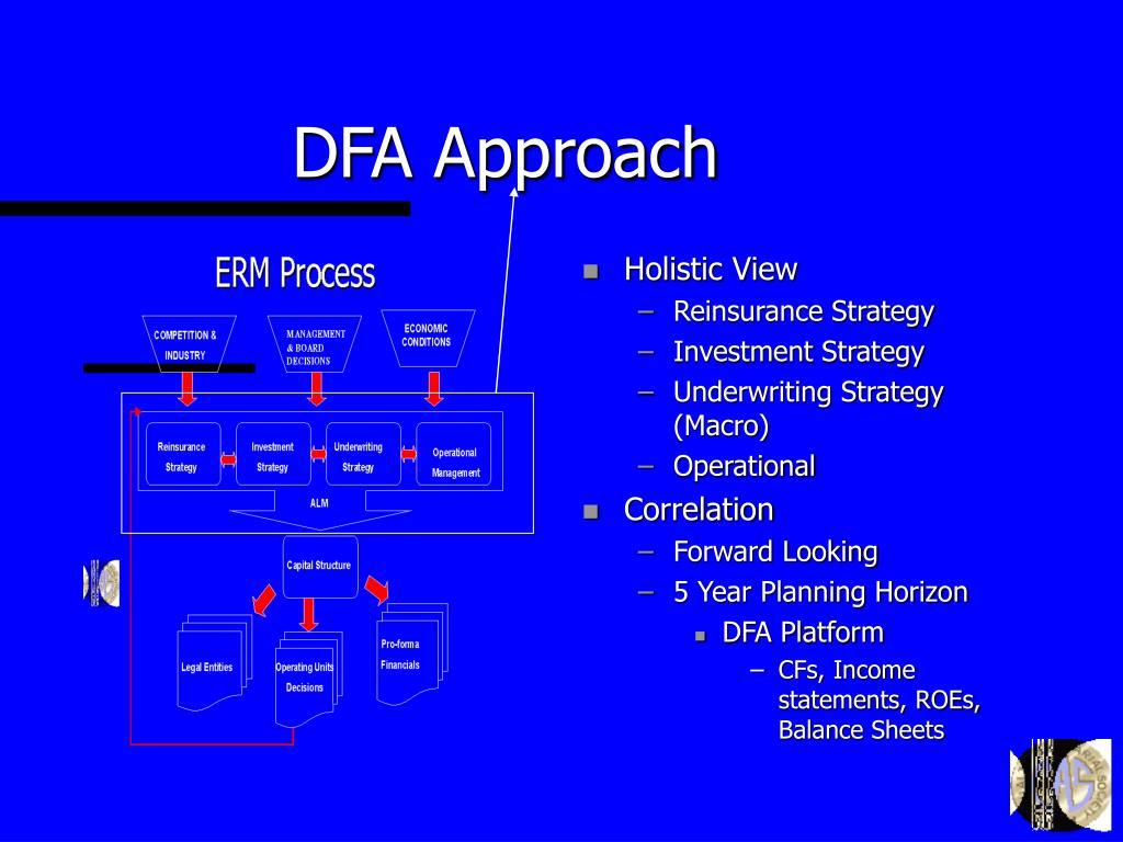DFA Approach