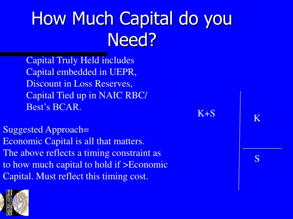 How Much Capital do you Need?