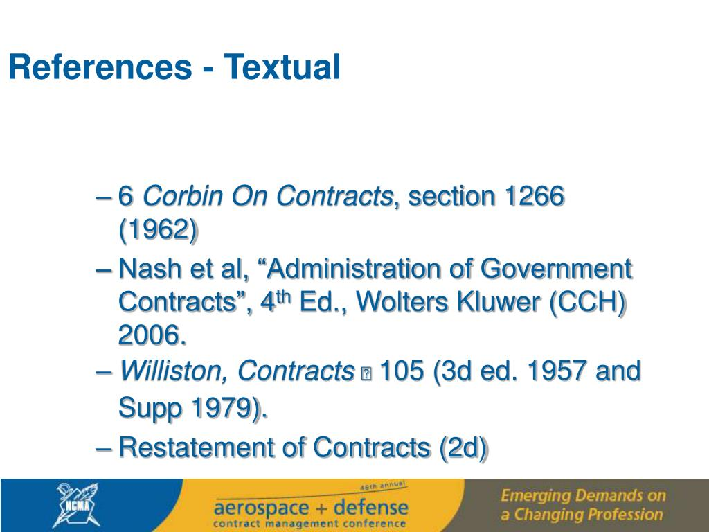 References - Textual