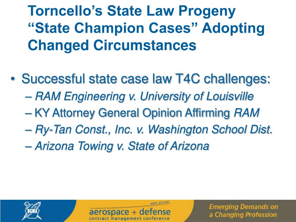Torncello's State Law Progeny