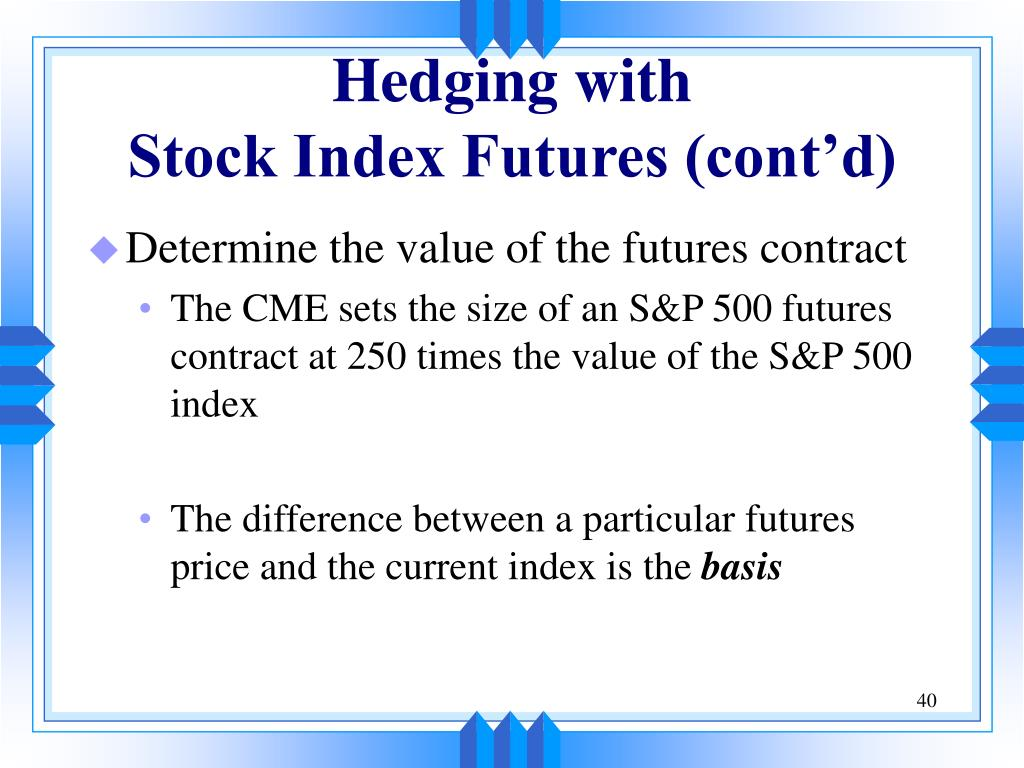 How to hedge a stock portfolio using options