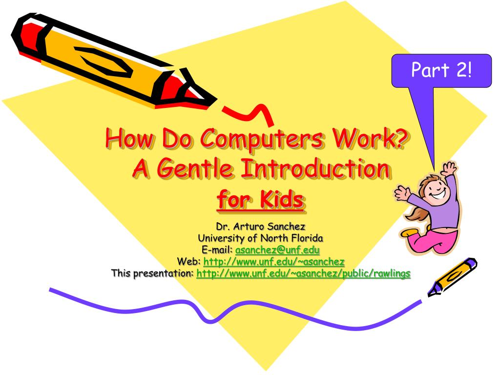 an introduction on how computers work Introduction to personal computers in the classroom teaching and learning with technology chapter 3 how computers work a computer is.
