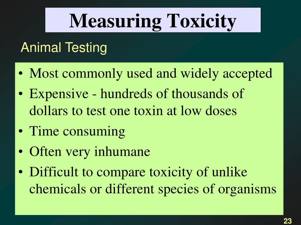 Measuring Toxicity