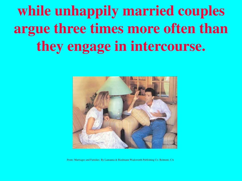 while unhappily married
