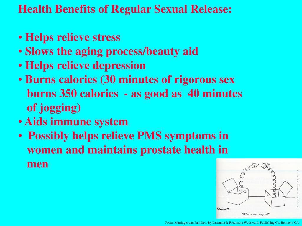 Health Benefits of Regular Sexual Release: