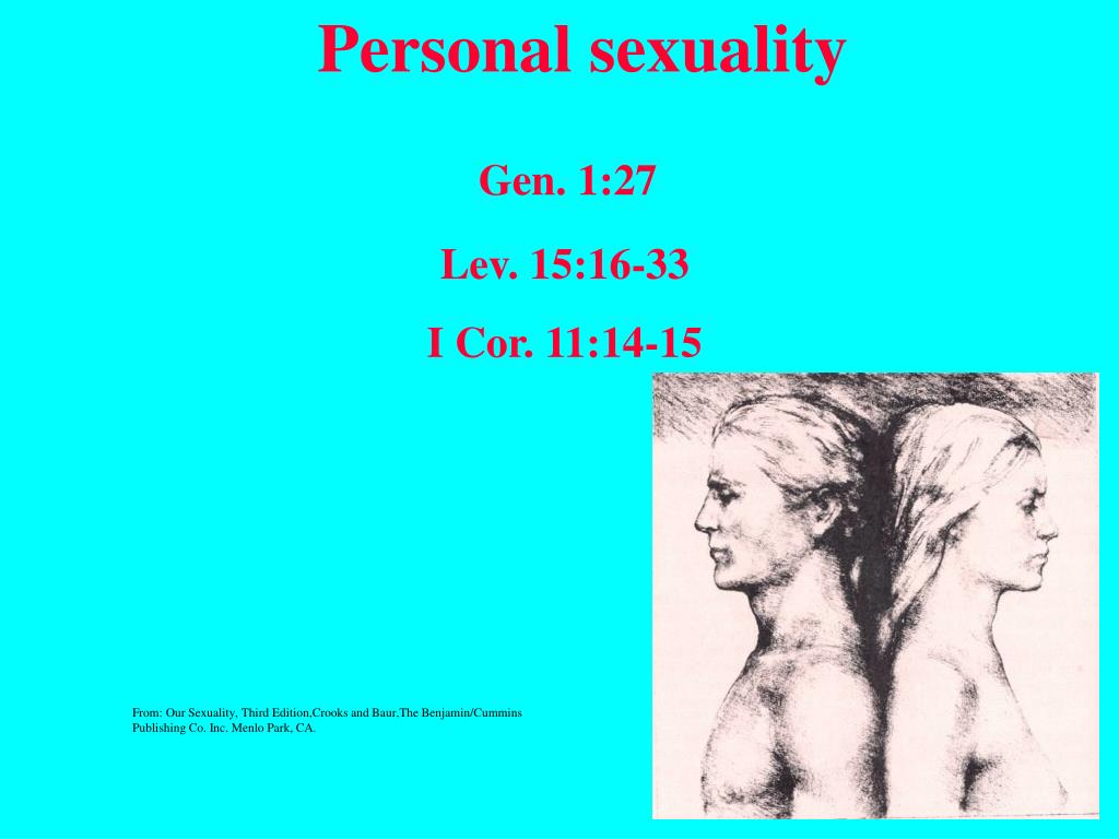 Personal sexuality