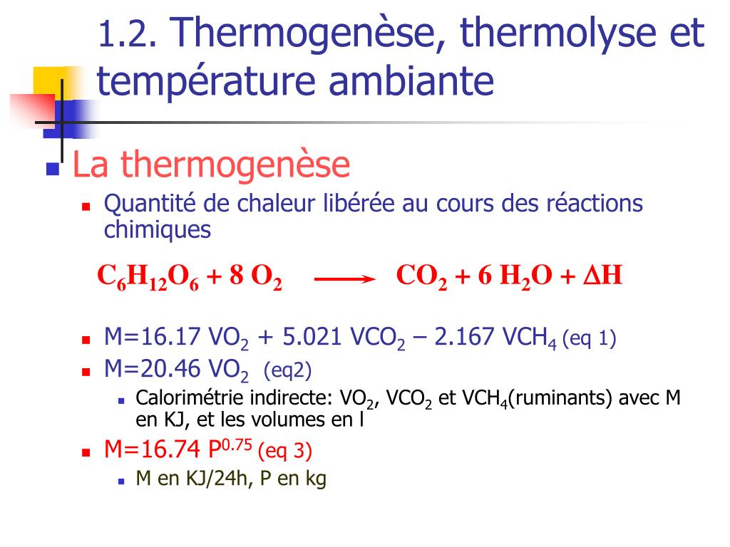Ppt la thermor gulation powerpoint presentation id 344250 - Temperature ambiante maison ...