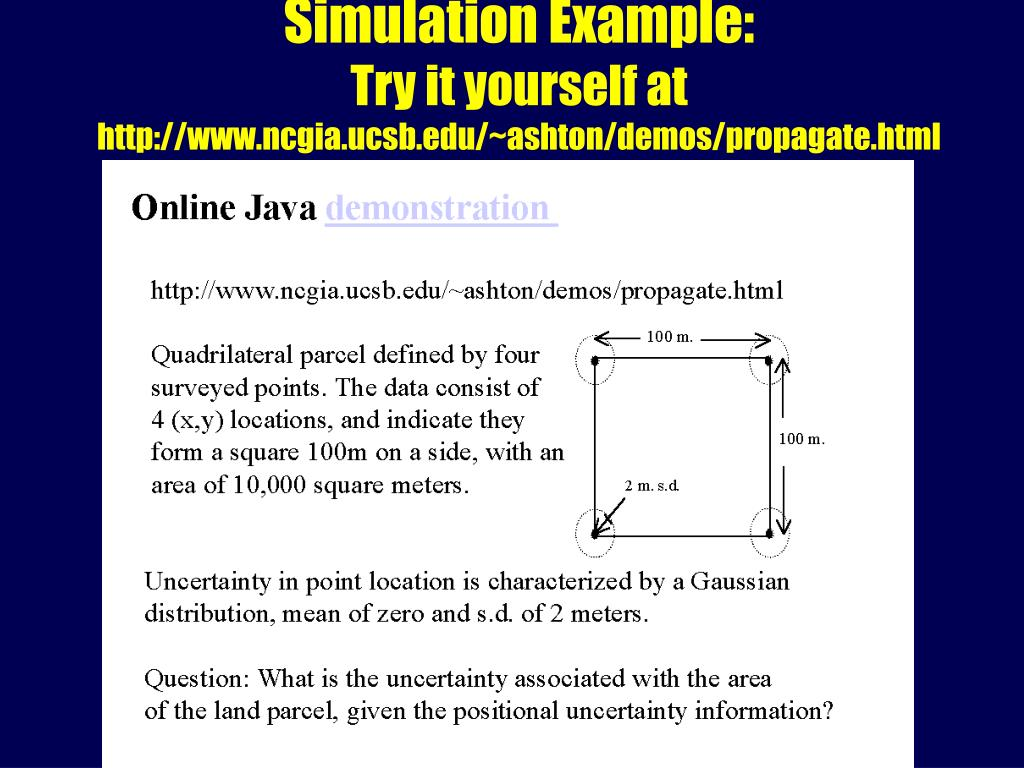 Simulation Example: