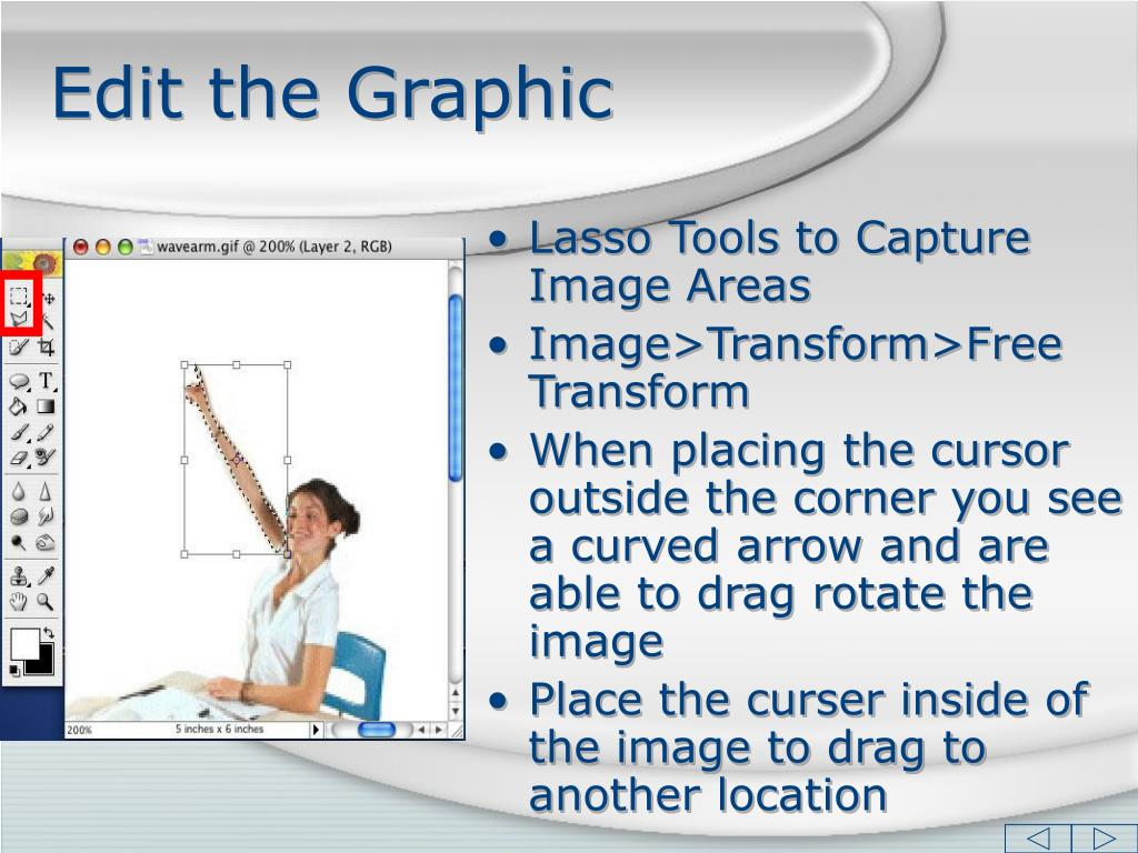 Edit the Graphic