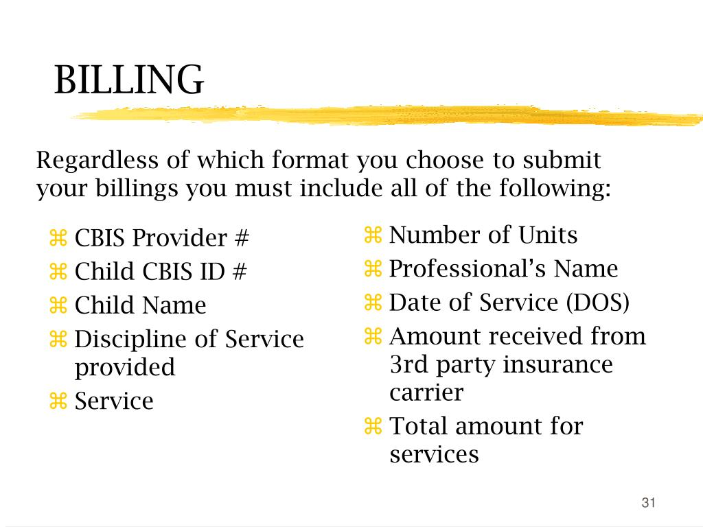 CBIS Provider #