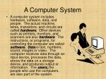 a computer system