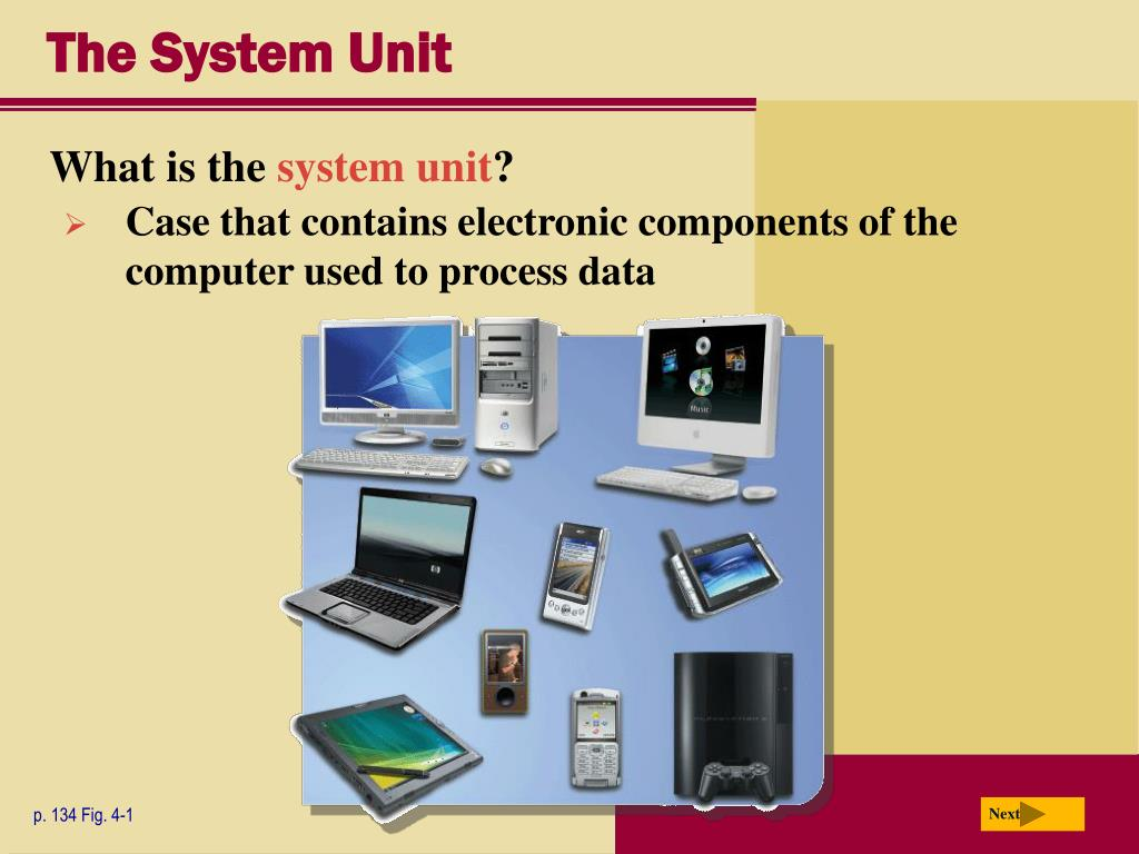 The System Unit