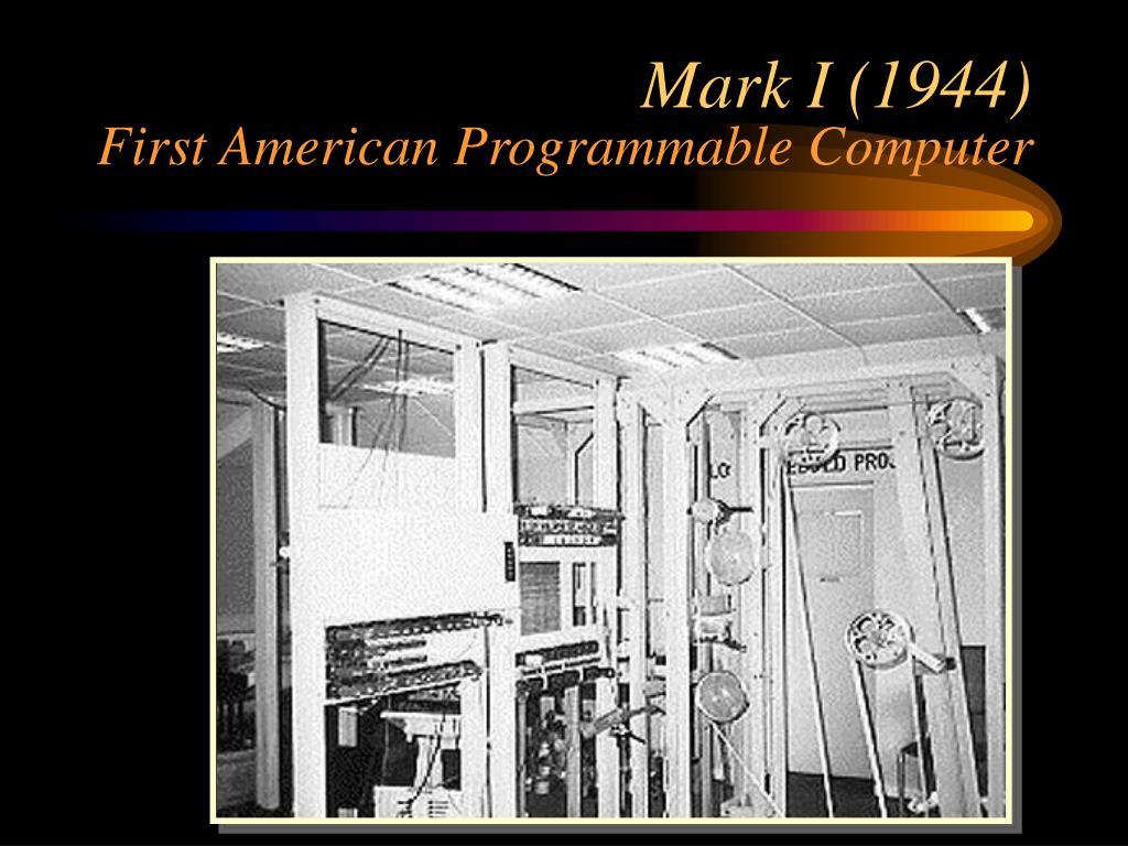 Mark I (1944)