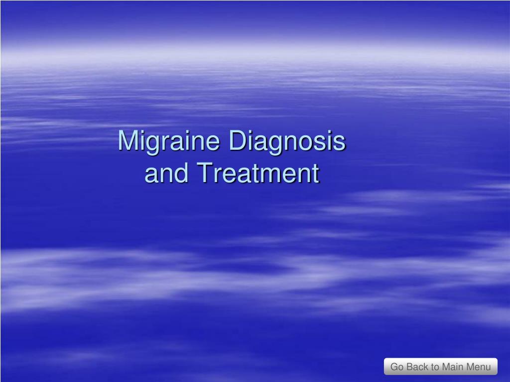 Migraine Diagnosis