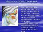 migraine is often overlooked