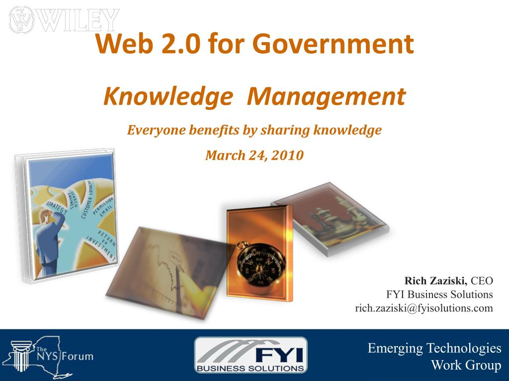Web 2.0 for Government