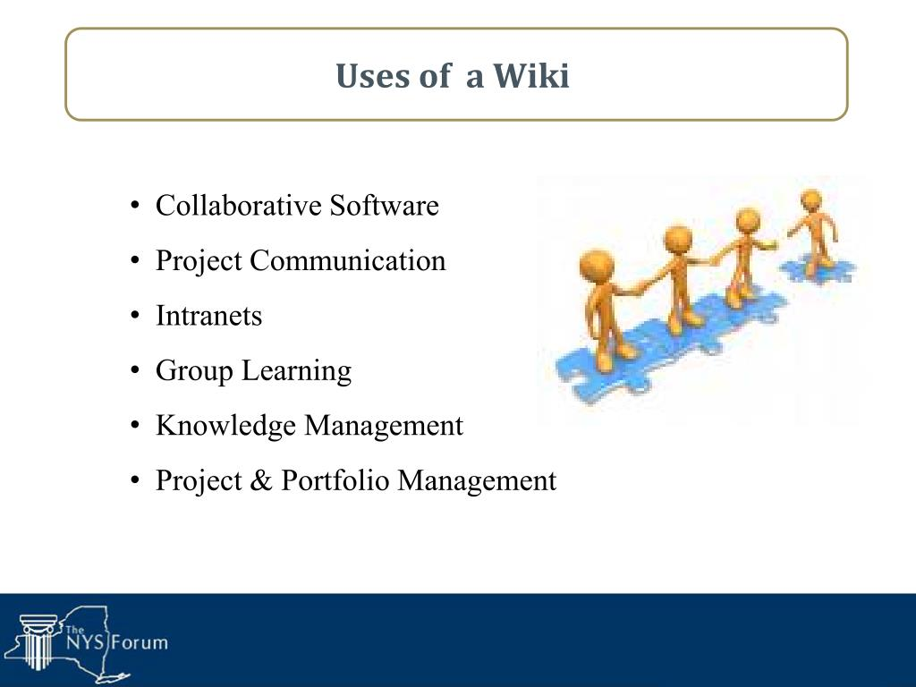 Uses of  a Wiki