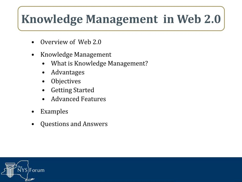 Overview of  Web 2.0