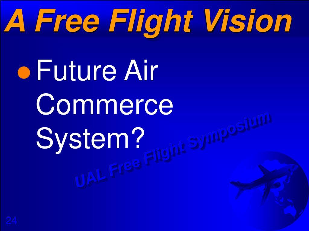 A Free Flight Vision