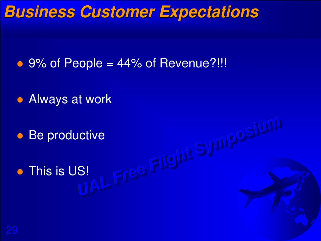 Business Customer Expectations