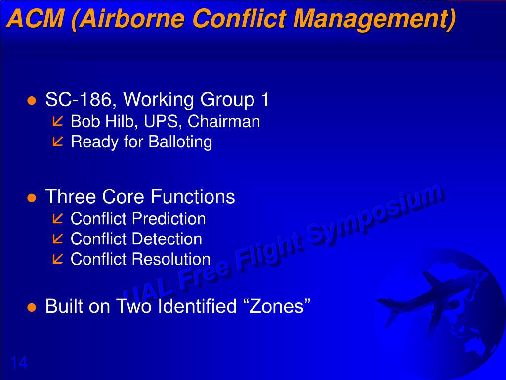 CD&R (Conflict Detection & Resolution)