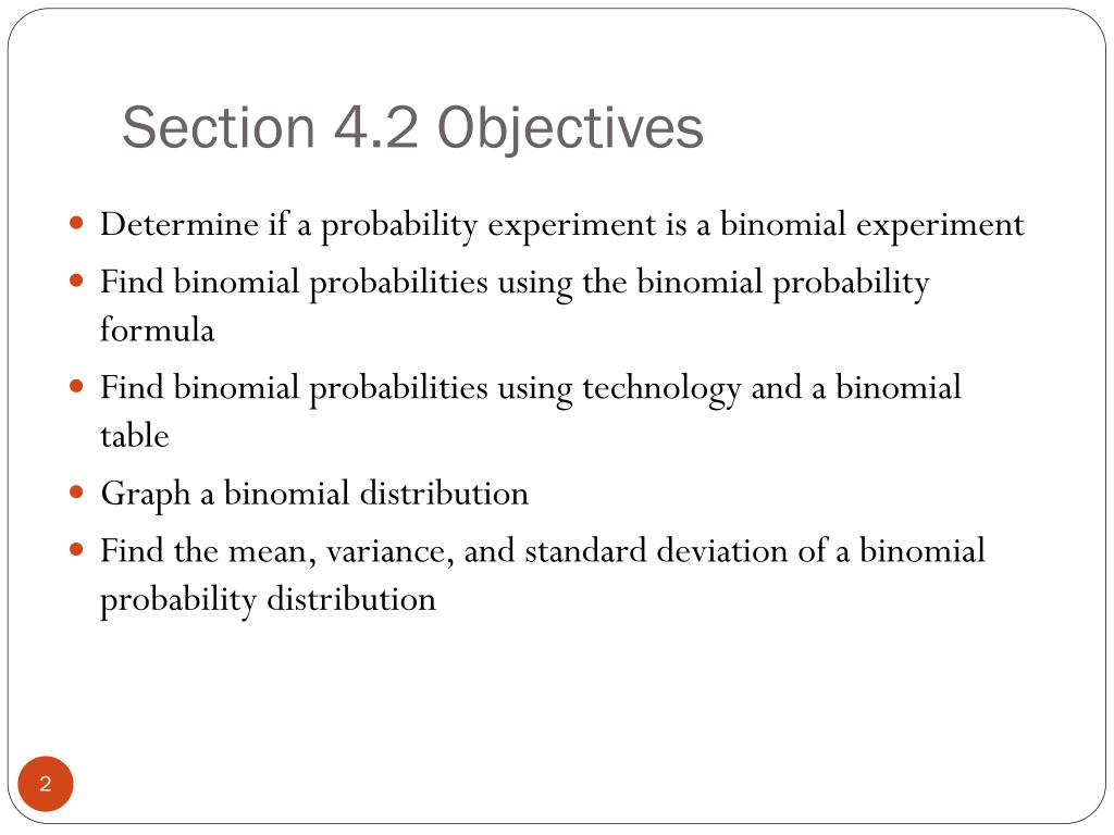 Section 4.2 Objectives