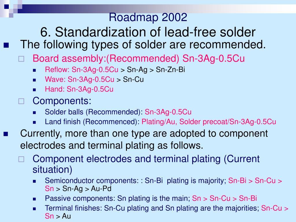 Roadmap 2002