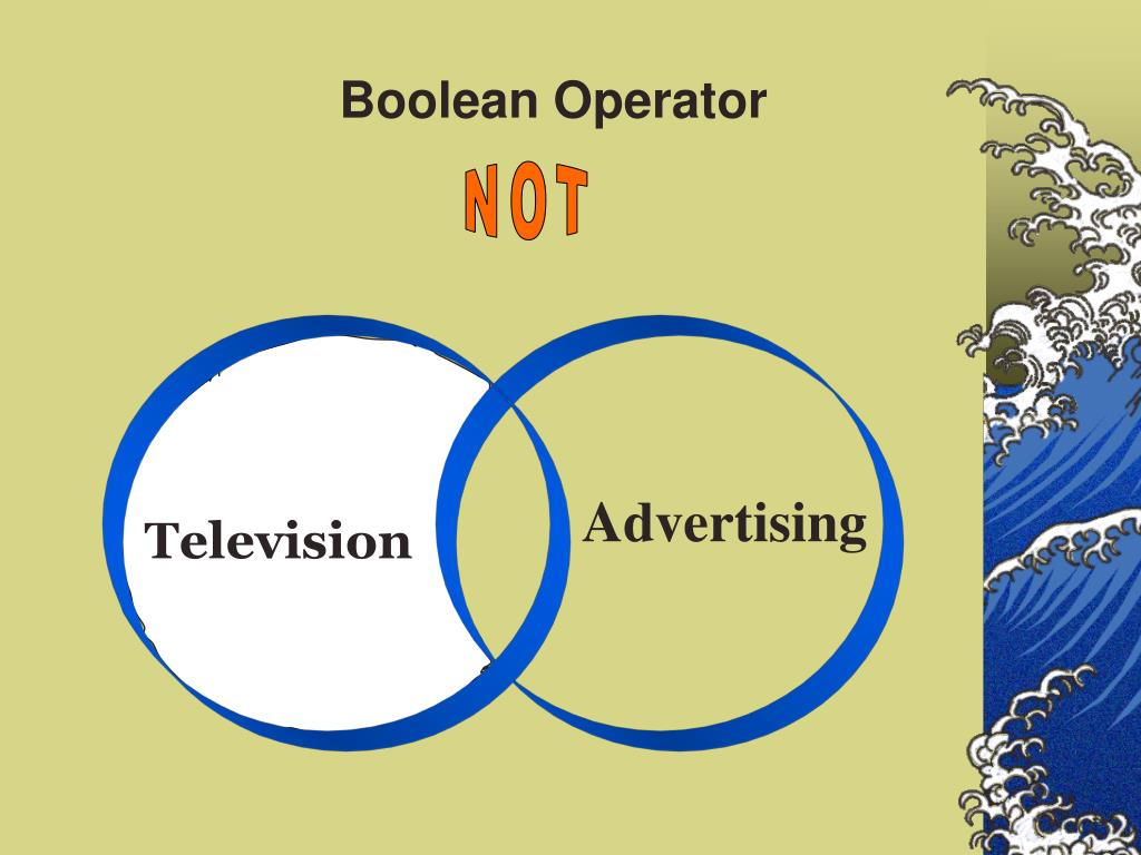 Boolean Operator