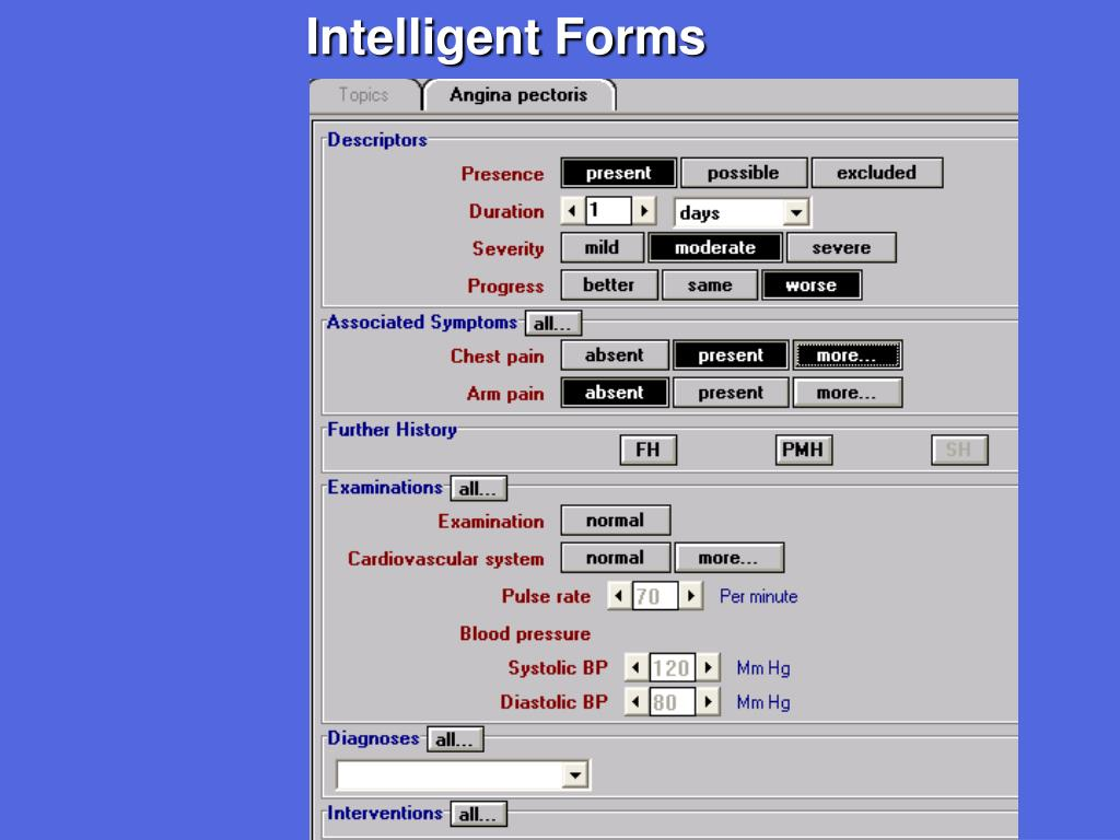 Intelligent Forms