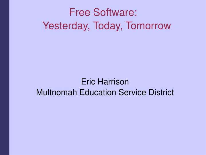 Eric harrison multnomah education service district