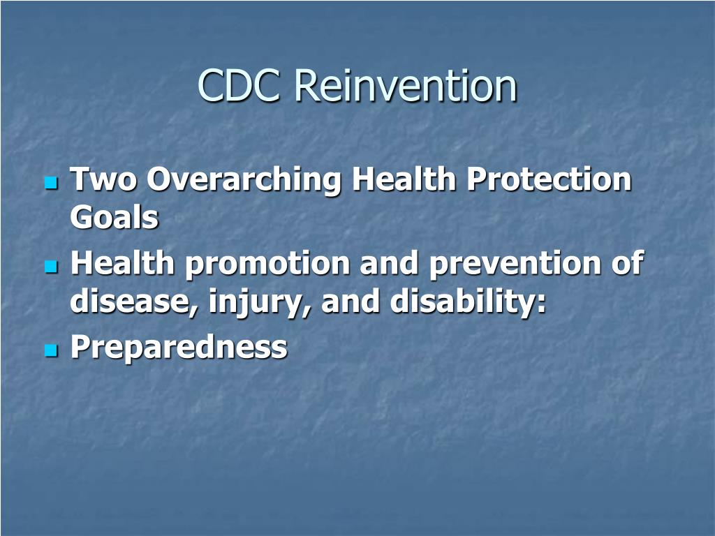 CDC Reinvention