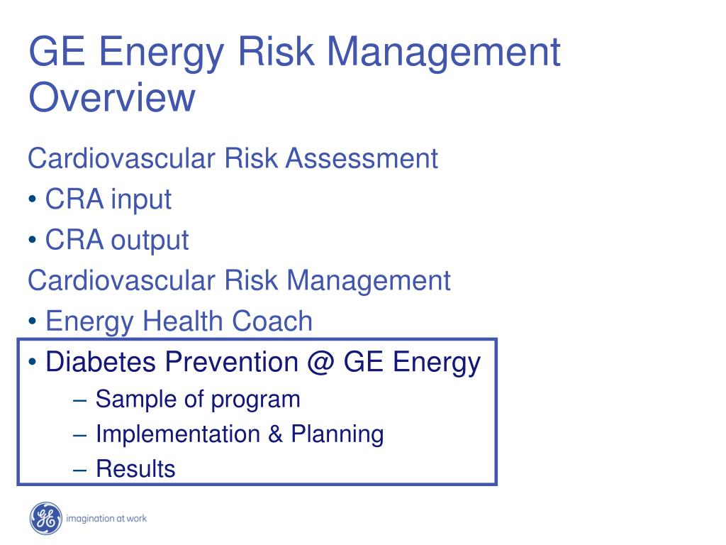 GE Energy Risk Management