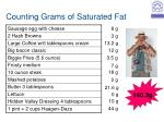 counting grams of saturated fat8