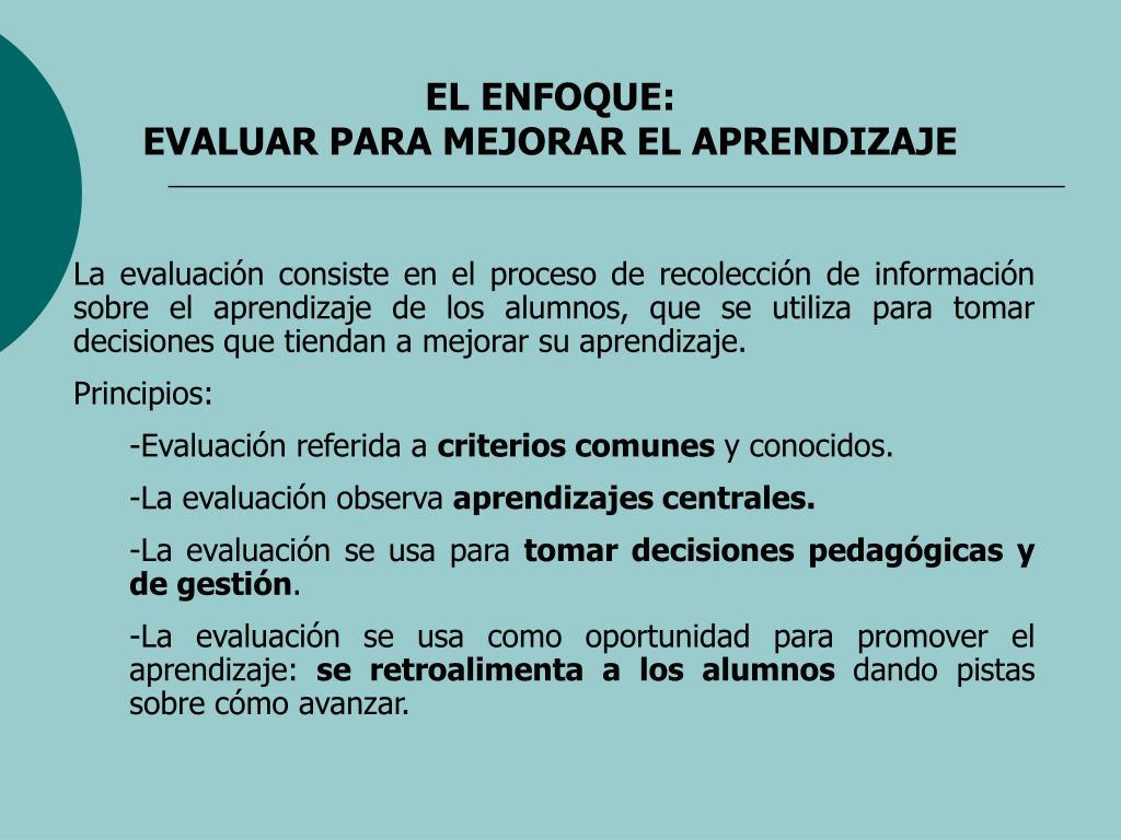 EL ENFOQUE: